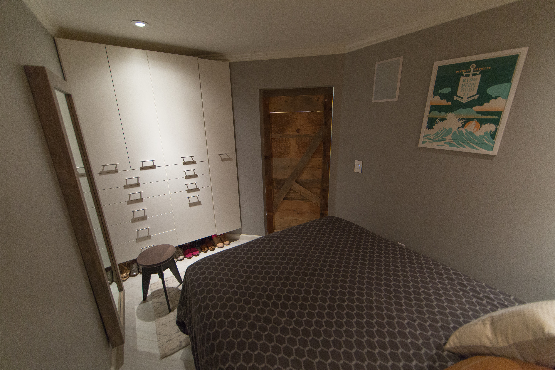 bedroom - closet