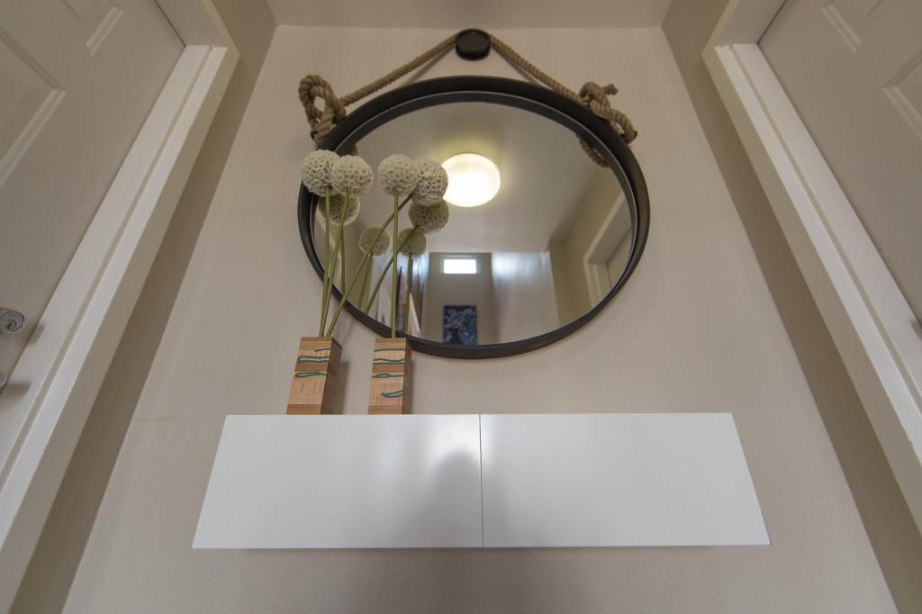 entrance - mirror